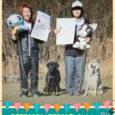 毎年恒例の12月の岡崎の大会に、生徒さん達も参加! 服従の部において、見事入賞しました!